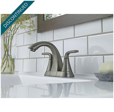 Slate Pasadena Centerset Bath Faucet - F-048-PDSL - 2