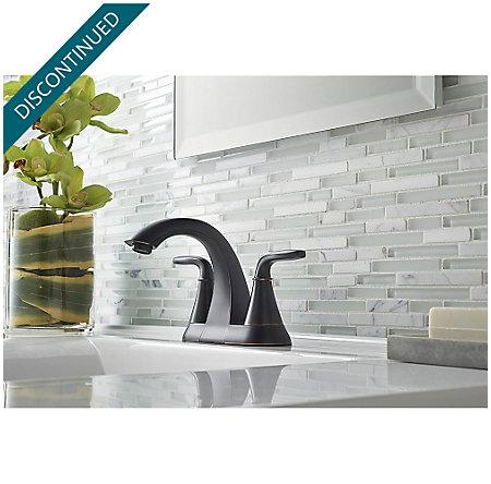 Tuscan Bronze Pasadena Centerset Bath Faucet - F-048-PDYY - 2