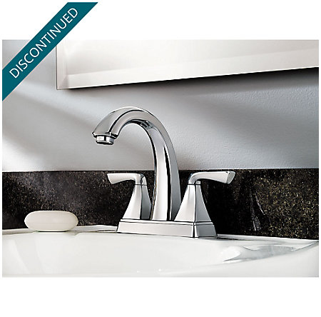 Polished Chrome Selia Centerset Bath Faucet - F-048-SLCC - 2