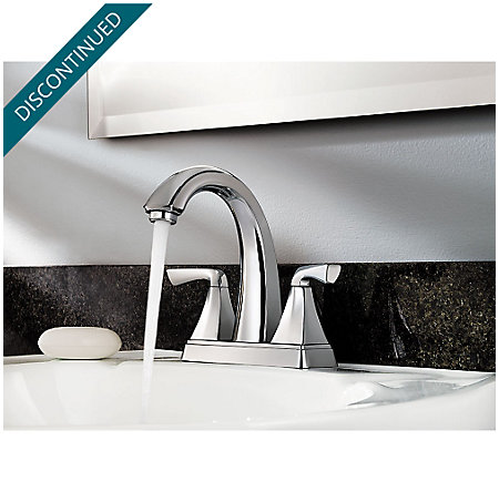 Polished Chrome Selia Centerset Bath Faucet - F-048-SLCC - 3