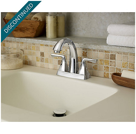 Polished Chrome Selia Centerset Bath Faucet - F-048-SLCC - 4