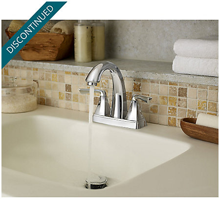 Polished Chrome Selia Centerset Bath Faucet - F-048-SLCC - 5