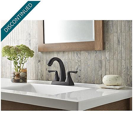 Tuscan Bronze Selia Centerset Bath Faucet - F-048-SLYY - 2