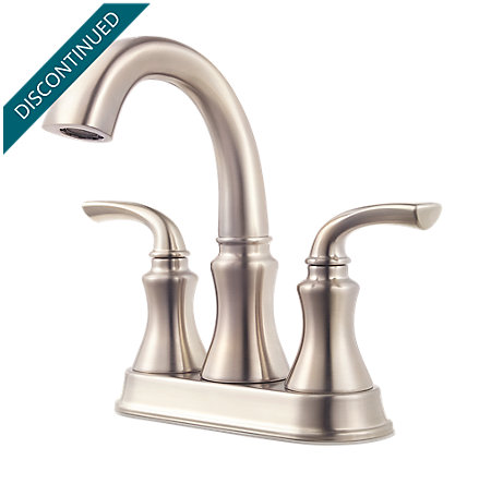 Brushed Nickel Solita Centerset Bath Faucet - F-048-SOKK - 1