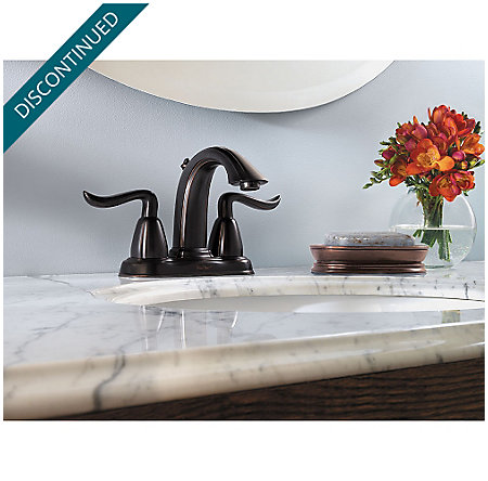 Tuscan Bronze Santiago Centerset Bath Faucet - F-048-ST0Y - 2