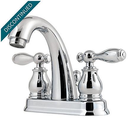 Polished Chrome Unison Centerset Bath Faucet - F-048-UNCC - 1