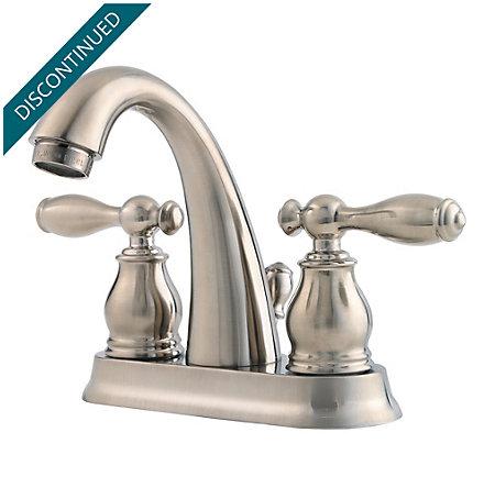 Brushed Nickel Unison Centerset Bath Faucet - F-048-UNKK - 1