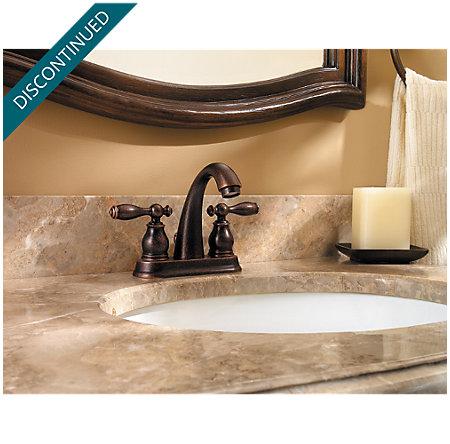 Rustic Bronze Unison Centerset Bath Faucet - F-048-UNUU - 2
