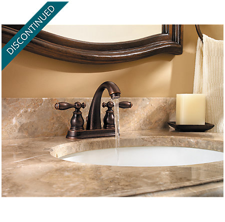Rustic Bronze Unison Centerset Bath Faucet - F-048-UNUU - 3