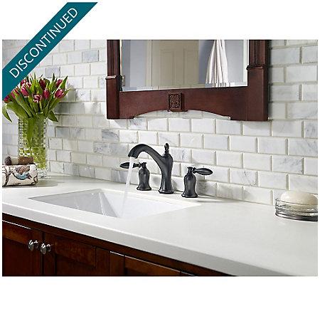 Tuscan Bronze Arlington Widespead Bath Faucet - F-049-ARYY - 3