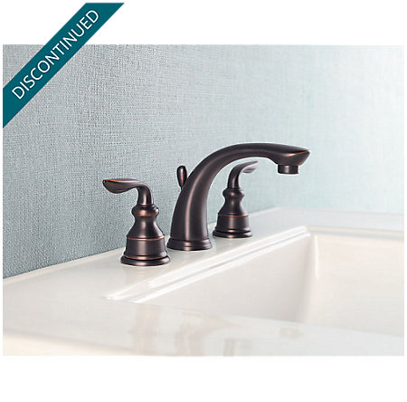 Tuscan Bronze Avalon Widespread Bath Faucet - F-M49-CBYY - 2