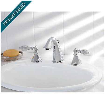 Polished Chrome Catalina Widespread Bath Faucet - F-049-E0BC - 2