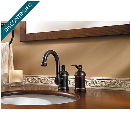 Tuscan Bronze Amherst Widespread Bath Faucet - F-049-HA1Y - 2