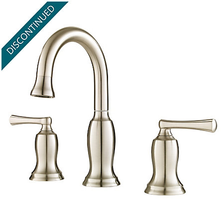 Brushed Nickel Lindosa Widespread  Bath Faucet - F-049-LDKK - 1
