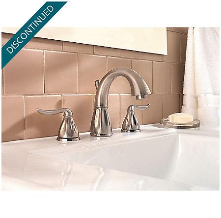 Brushed Nickel Sedona Widespread Bath Faucet - F-049-LT0K - 2