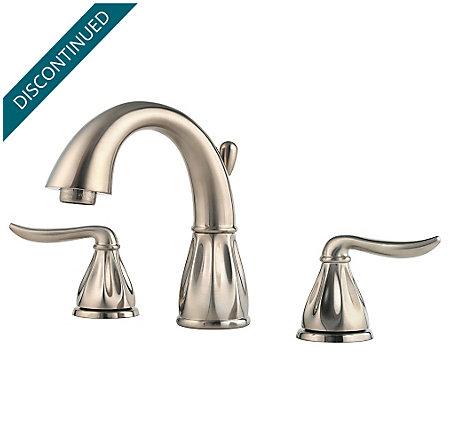 Brushed Nickel Sedona Widespread Bath Faucet - F-049-LT0K - 1