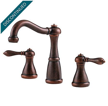 Rustic Bronze Marielle Widespread Bath Faucet - F-049-M0BU - 1