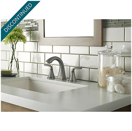 Slate Pasadena Widespread Bath Faucet - F-049-PDSL - 2