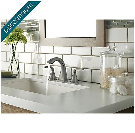 Slate Pasadena Widespread Bath Faucet - F-049-PDSL - 3