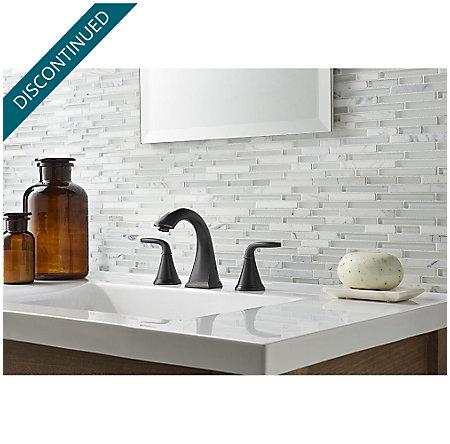Tuscan Bronze Pasadena Widespread Bath Faucet - F-049-PDYY - 2