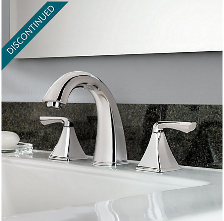 Polished Chrome Selia Widespread Bath Faucet - F-049-SLCC - 2