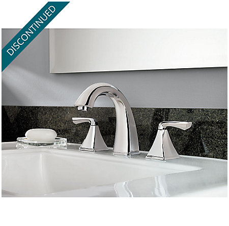 Polished Chrome Selia Widespread Bath Faucet - F-049-SLCC - 3