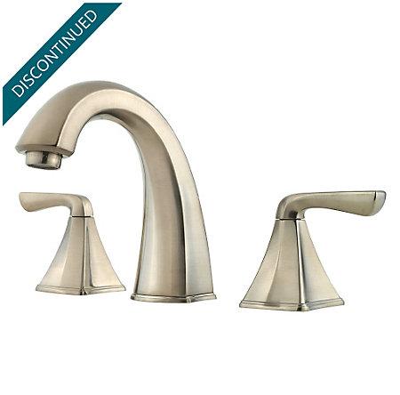 Brushed Nickel Selia Widespread Bath Faucet - F-049-SLKK - 1