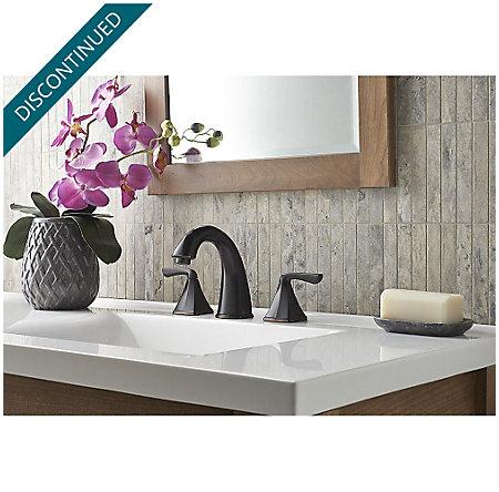 Tuscan Bronze Selia Widespread Bath Faucet - F-049-SLYY - 2