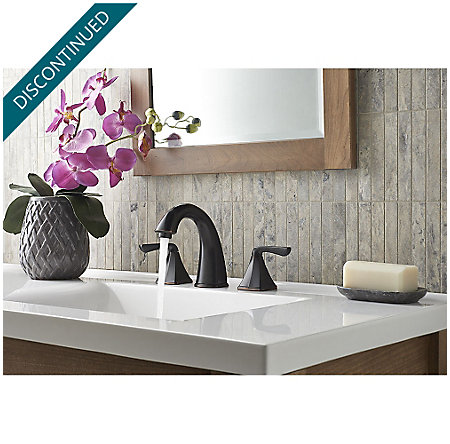 Tuscan Bronze Selia Widespread Bath Faucet - F-049-SLYY - 3