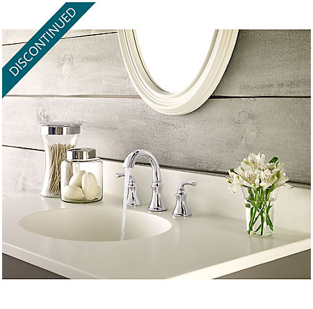 Polished Chrome Solita Widespread Bath Faucet - F-049-SOCC - 3