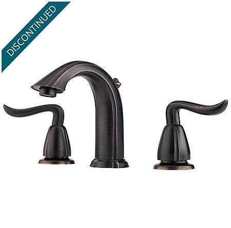 Tuscan Bronze Santiago Widespread Bath Faucet - F-049-ST0Y - 1
