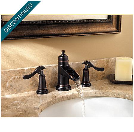 Tuscan Bronze Ashfield Widespread Bath Faucet - F-049-YP1Y - 2
