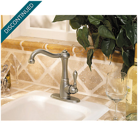 Rustic Pewter Marielle Bar/Prep Kitchen Faucet - F-072-M1EE - 4