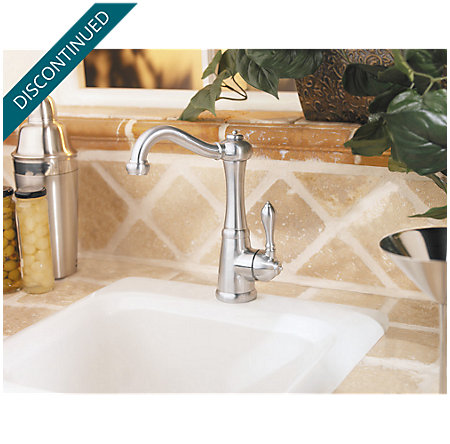 Stainless Steel Marielle 1-Handle Bar and Prep Faucet - F-072-M1SS - 3