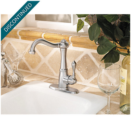 Stainless Steel Marielle 1-Handle Bar and Prep Faucet - F-072-M1SS - 4