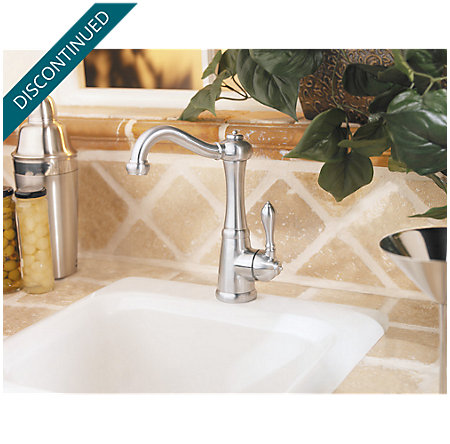 Stainless Steel Marielle 1-Handle Bar and Prep Faucet - F-072-M1SS - 5