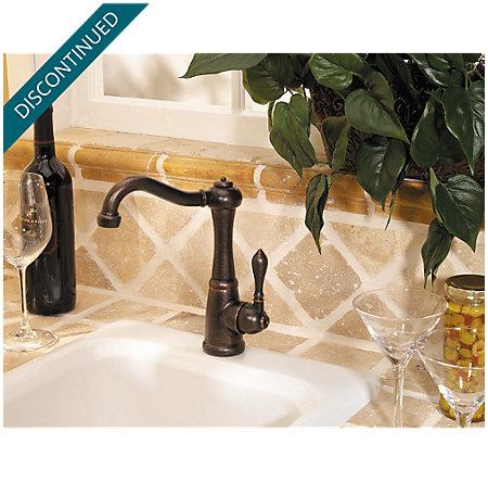 Rustic Bronze Marielle Bar/Prep Kitchen Faucet - F-072-M1UU - 3
