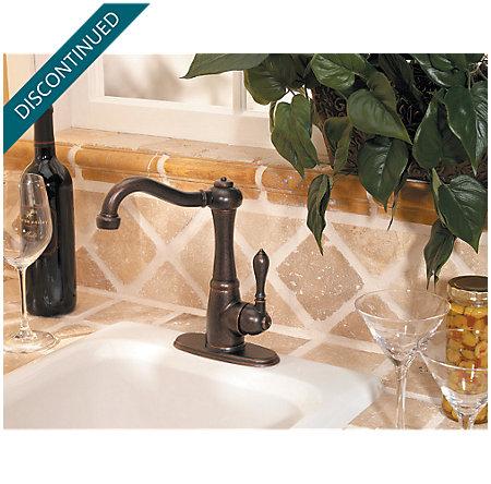 Rustic Bronze Marielle Bar/Prep Kitchen Faucet - F-072-M1UU - 4
