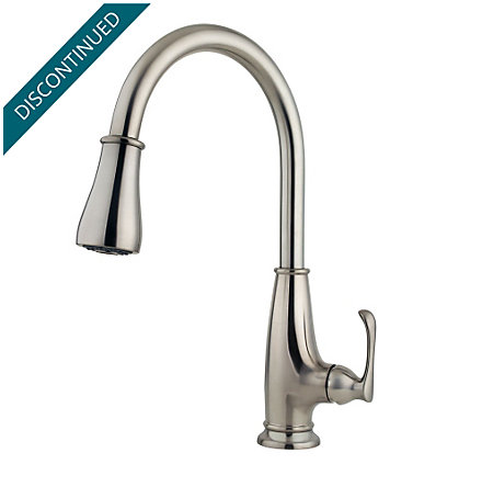 Stainless Steel Ainsley 1-Handle, Pull-Down Kitchen Faucet - F-529-7AYS - 3