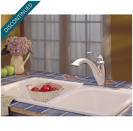 Stainless Steel Marielle 1-Handle, Pull-Out Kitchen Faucet - F-532-70SS - 5