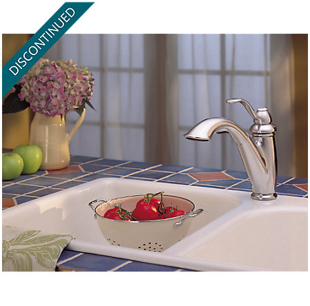 Stainless Steel Marielle 1-Handle, Pull-Out Kitchen Faucet - F-532-70SS - 6