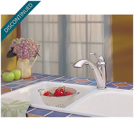 Stainless Steel Marielle 1-Handle, Pull-Out Kitchen Faucet - F-532-70SS - 8