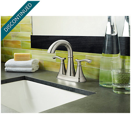 Brushed Nickel Ideal Centerset Bath Faucet - F-548-IDKK - 4