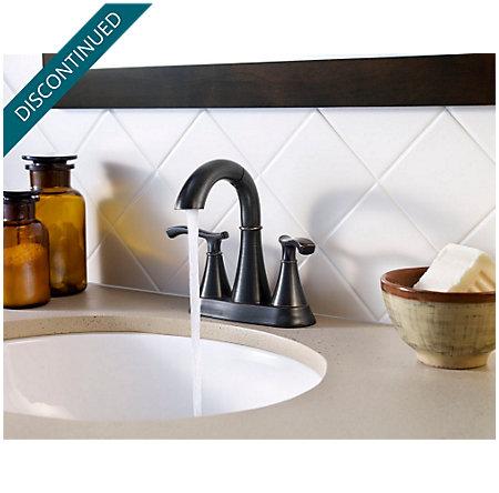 Tuscan Bronze Ideal Centerset Bath Faucet - F-548-IDYY - 2