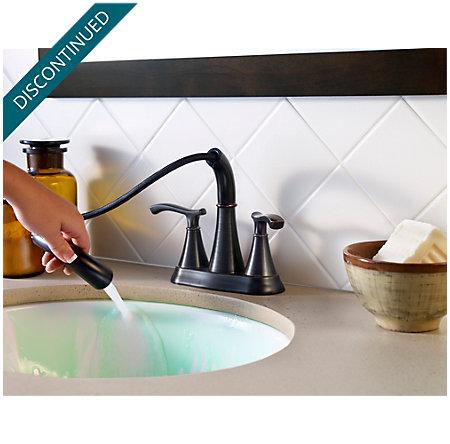 Tuscan Bronze Ideal Centerset Bath Faucet - F-548-IDYY - 5