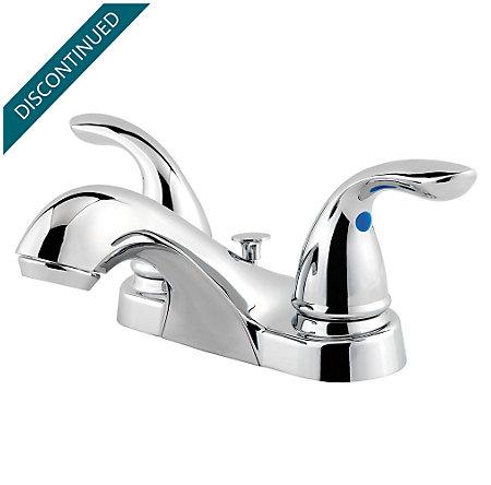 Polished Chrome Classic Centerset Bath Faucet - F-WL2-230C - 1