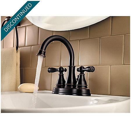 Tuscan Bronze Sonterra Centerset Bath Faucet - F-WL2-450Y - 3