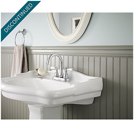 Polished Chrome Sonterra Centerset Bath Faucet - F-WL2-45PC - 2