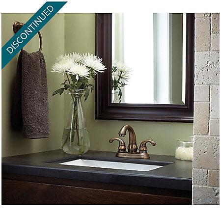 Velvet Aged Bronze Treviso Centerset Bath Faucet - F-048-DV00 - 2