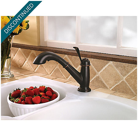 Tuscan Bronze Bixby 1-Handle, Pull-Out Kitchen Faucet - F-538-5LCY - 3